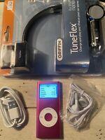 Apple iPod nano 2nd Generation Pink (4 GB) USED BUNDLE