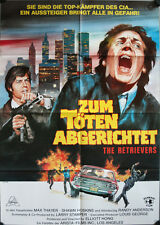 The Retrievers Zum Töten Abgerichtet German movie poster DinA1 A Randy Anderson