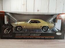 Highway 61 1969 Chevy Camaro SS 396 '69 1:18 Scale Diecast Model Car
