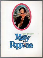 Vintage 1964 MARY POPPINS MOVIE PRESS BOOK Disney Golden Press Julie Andrews