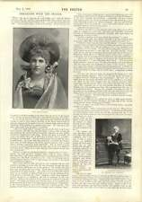 1893 Ms Kate Chard Mrs Brand Interview Chat With Shaftesbury Memorial