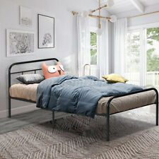 Twin Full Metal Bed Frame Bedroom Platform Mattress Foundation 1102lbs Furniture