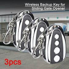 Backup Keypad Operator Exclusively Wireless For Sliding Gate Opener Set of 3
