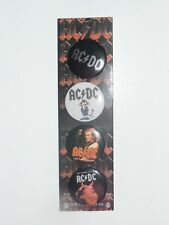 Ac/Dc Button Lot of 3 New
