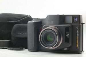 """"""" MINT Count 010 w/ Hood """" Fujifilm Fuji GA645 Pro Film Camera Black JAPAN"""