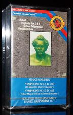 FRANZ SCHUBERT Symphony 3 + 5 DANIEL BARENBOIM MC audio Kassette tape cassette
