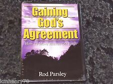 Audio CD- Rod Parsley - Gaining God's Agreement How To Move Heaven on Earth