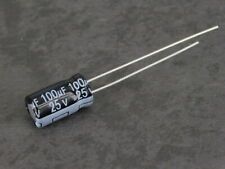 10 x 100μF 25V Electrolytic Capacitors - Electronic Component
