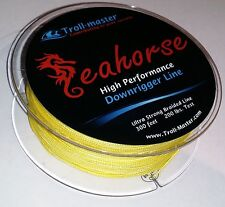 Downrigger Braided Line Yellow 200 lb 300ft Penn Cannon Seahorse by Troll-Master