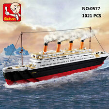 Sluban B0577 Titanic Ship Jack Rose Figure Diy Building Block Toy blocks toys