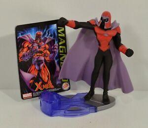 """2001 Magneto Variant 4"""" Burger King EUROPE Action Figure Marvel X-Men Evolution"""