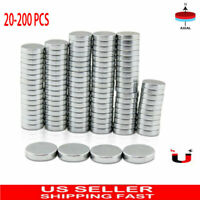 20-200Pcs N35 4X2mm Neodymium Disc Magnet Super Strong Rare Earth Fridge Magnets