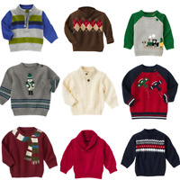 Gymboree Boys Sweaters Pull Over Baby 3-6-12-18-24 mo Blue Holiday Cable Knit