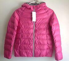 New Uniqlo Girls Light Warm Padded Parka / Puffer Jacket Coat Size 11