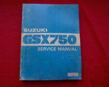 Suzuki GSX750, GSX 750, incl. KATANA Service repair workshop manual, repair book