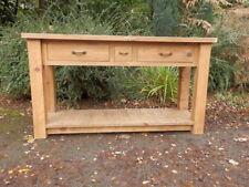 Pine Farmhouse Console Tables