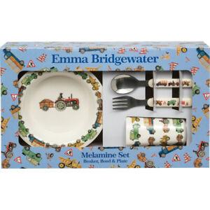 Emma Bridgewater Men at Work Childrens Melamine Dining Set