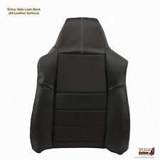 2008 2009 2010 F250 Driver Side Lean Back Replacement Leather Seat Cover BLACK