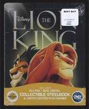 DISNEY THE LION KING BLU-RAY + DVD BEST BUY STEELBOOK *NO DIGITAL HD*