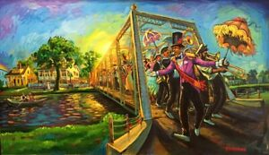Terrance Osborne - Bayou St. John Second Liners   SIGNED and Numbered.