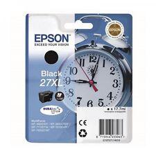 Epson Genuine Original T271 Alarm Clock 27XL Black Ink Cartridge (C13T27114010)