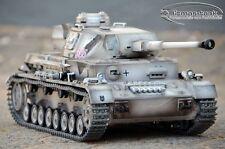 Taigen 2.4 GHz Panzer  IV  4 F2  Metall  Edition Wintergrau Metallketten 1:16
