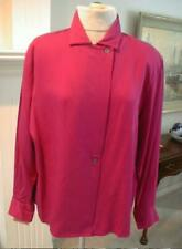 NWT NORDSTROM POINT OF VIEW Fuchsia Blouse - 16