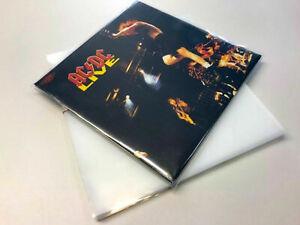 50 x LP Schutzhüllen aus PE 150µ Die Dicken