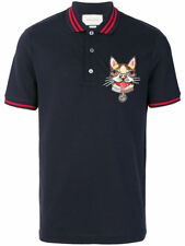 Original Gucci Dog Patch Polo Shirt