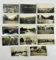 14 PHOTOS ROUMANIE HONGRIE 1930 1940 PAYSAGE BORD DE MER CAMP DE SCOUTS H2024