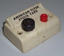 American Flyer S Original Controller For Stockyard 771 K771 & 736 Stock Car