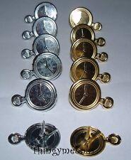 Reloj De Bolsillo 12/Reloj Brads-elaboración de Tarjetas/chatarra de reserva/Crafts