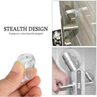 1/2/4pcs Silent Door Handle Bumper Protectors Door Bumpers Handle I6U0