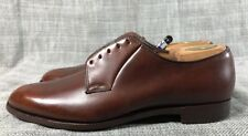 CHURCH'S Custom Grade Brown Leather Men's Oxford Shoes Size 10 D
