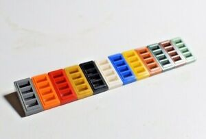 Lego 61409 Slope Grill With 4 Slots Select Colour Pack of 30