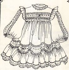 """Sewing  Clothes Coat Pattern fits 12 13"""" Little Darling Kish Betsy dolls 293"""