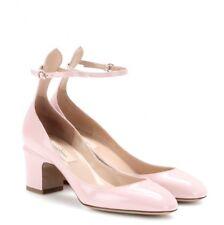 Valentino Women's Pink Tango Patent-Leather Pumps, 37.5 / 38 NEW