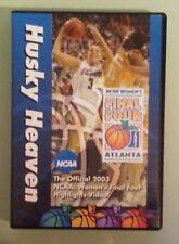 THE 2003 NCAA WOMENS FINAL FOUR HIGHLIGHTS husky heaven basketball DVD women's
