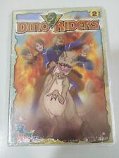 DINO RIDERS DVD VOLUMEN 2 - CAPITULOS 5 - 8 CASTELLANO ENGLISH REGION 2 NUEVO