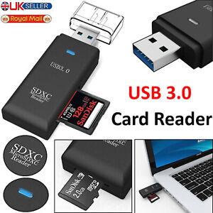 USB 3.0 SD Memory Card Reader High Speed SDHC SDXC MMC Micro Mobile T-FLASH UK