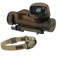 Petzl Strix VL LED Kopflampe Stirnlampe Tactical Lampe Military Headlamp TAN