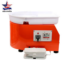 Ac 110V Electric Pottery Wheel Machine for Ceramic Work Clay Art Craft Diy -Us