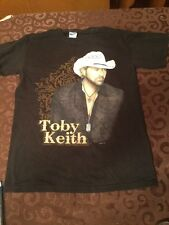 Toby Keith Biggest and Baddest Tour Men's size Small T Shirt