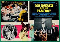 T23 Fotobusta 100 Mädchen Für Ein Playboy Renato Salvatori Antonella Lualdi