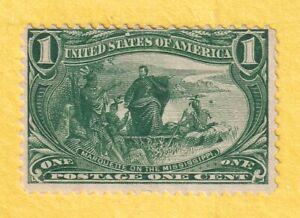 jis36 US STAMP # 285 1c 1898 *MINT NG CV$25.00 166