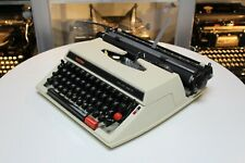 BROTHER Deluxe 662 TR - 1977 - portable typewriter Schreibmaschine vintage antik
