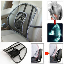 Car Seat Lumbar massage Waist Rest Cushion Mesh Lumbar Pillow Soft Back Support