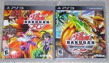 PS3 Game Lot - BAKUGAN Battle Brawlers (Used) BAKUGAN Defenders of the Core USED