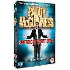 Paddy McGuinness - Live 2011 (DVD, NEW, 2011)