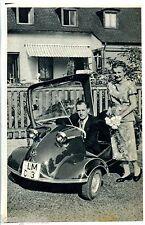 Messerschmitt cabine ROLLER -- KR 200 -- Scollo giornale di 1956